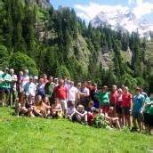 Mitglieder des Alpenvereins räumten Alpe