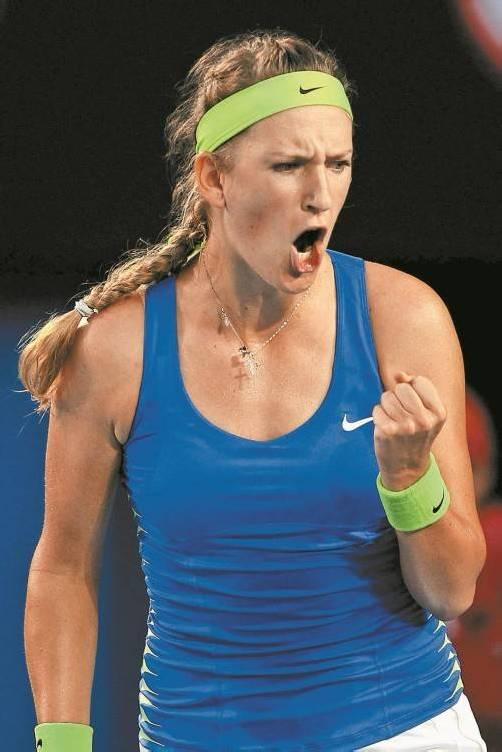 Wiktoria Asarenka will weiterhin Weltrangliste-Erste bleiben.  epa