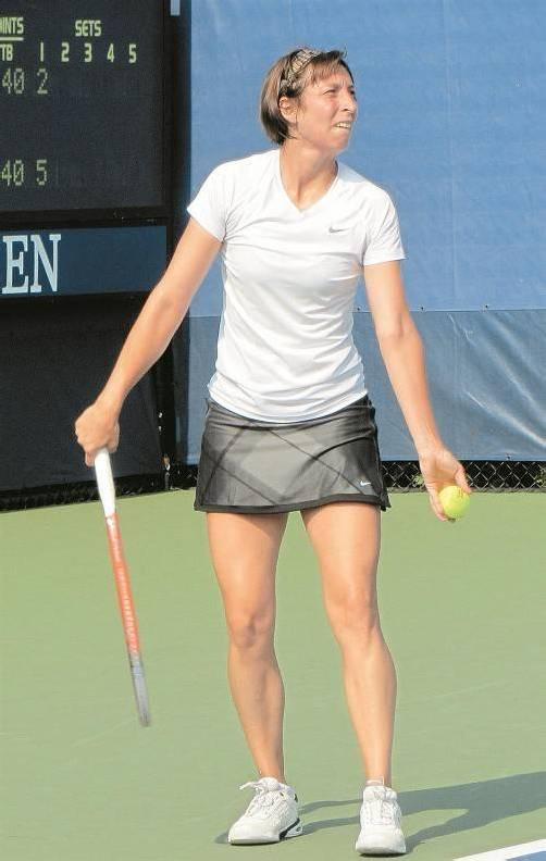 Yvonne Meusburger schied nach hartem Kampf aus. Foto: Privat