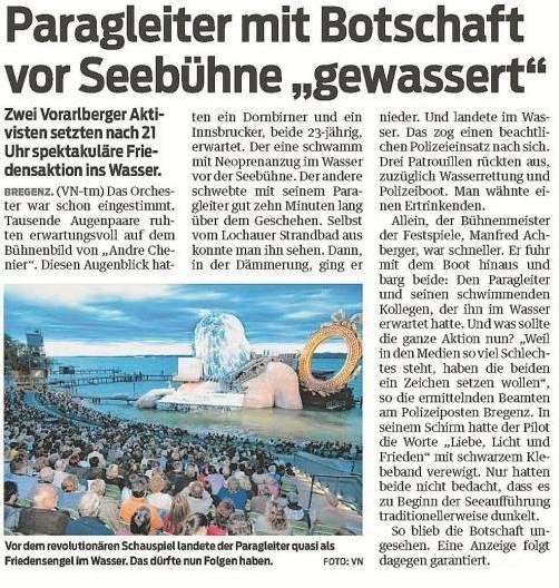 Zum VN-Bericht vom 11./12. August 2012