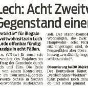 Lech-Kontrolleure wider Willen