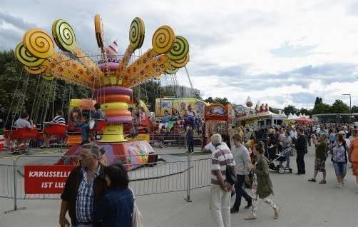 Zumindest am Sonntag blieb das Bregenzer Stadtfest vom Regen verschont. Foto: VN/Stiplovsek