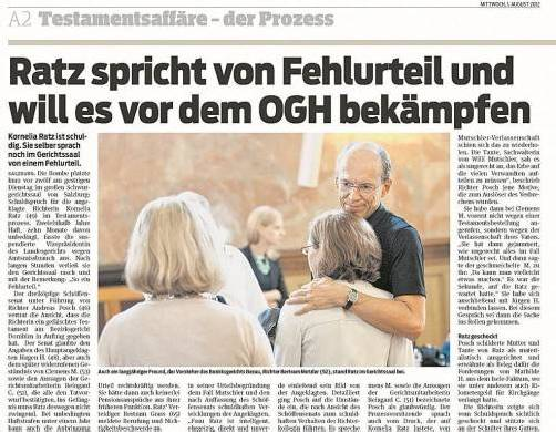 Zur VN-Berichterstattung vom 1. August 2012