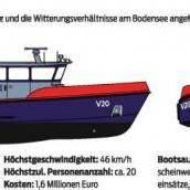 1,6 Mill. Euro für neues Polizeiboot