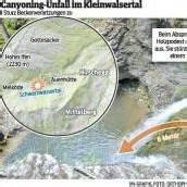 Hirschegg: Ermittlungen nach Canyoning-Unfall