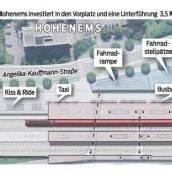 Bahnhofspläne werden auch kritisch gesehen