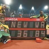 Drittes Gold für Usain Bolt mit neuem Weltrekord