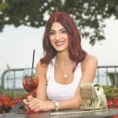 Amina Dagi auf Ländle-Besuch Miss World-Wahl gut verdaut /A6
