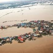 Manila unter Wasser