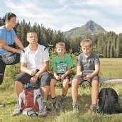 Wasserkraft zieht an 170 Wanderer kamen ins Silbertal /A8