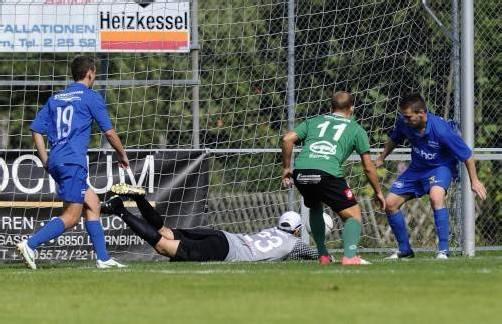 sport fussball Landesliga, 1. Spieltag Dornbirner SV - FC Admira Dornbirn