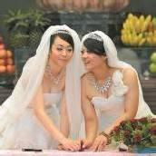 Erste buddhistische Homosexuellen-Hochzeit in Taiwan