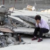 Taifun Sanba wütet in Japan und Südkorea
