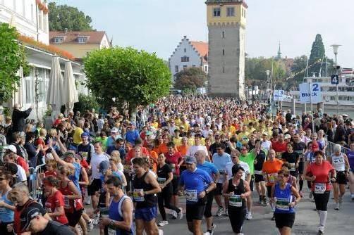 10.000 Läuferinnen und Läufer werden am 6. und 7. Oktober im Rahmen des Sparkasse-Marathons erwartet. Foto:vn-lerch