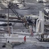 Brand einer Gaspipeline