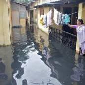 Nordinder leiden unter Hochwasser