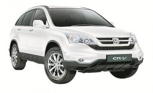 Aktionstage bei Honda: Auch den CR-V gibt's günstiger. Foto: Werk
