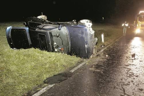Am Fahrzeug entstand Totalschaden. Foto: vol.at