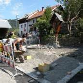 Kehlegg: Bau am Dorfplatz verzögert sich