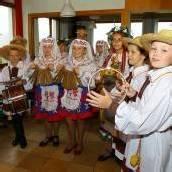 Glückliche Gäste aus Weißrussland