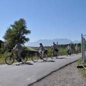 Umleitungen auf Radwegen am Illspitz