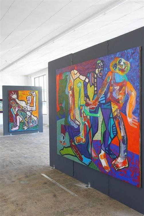 """Ausstellung """"Dramagalerie""""; Alexander Waltner zeigt uns seine Malereien"""