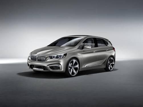 BMW mit einem Ausblick auf einen kommenden Kompakt-Van. Premiere feiert das Konzeptfahrzeug auf dem Autosalon in Paris. Foto: werk