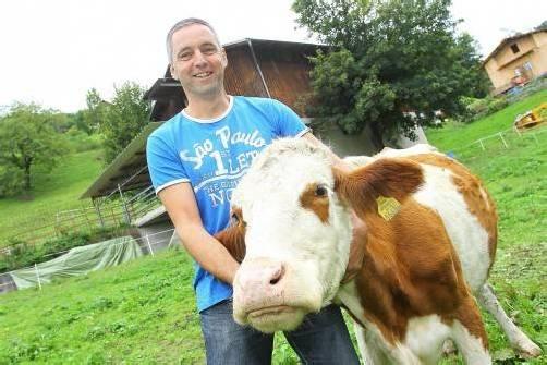 Bauer Kathans Kühe dürfen elf Monate im Freien sein. Hofmeister
