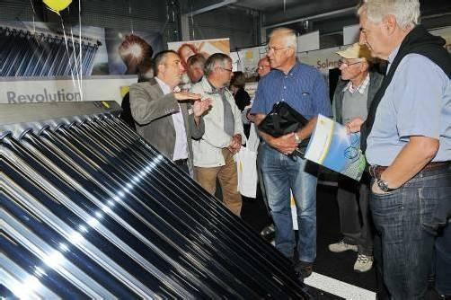 Beim Solar- und Wärmepumpentag am Samstag kann man sich umfassend beraten lassen. Foto: vkw