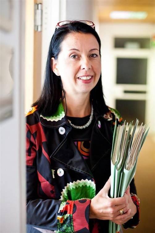 Borghild Goldgruber-Reiner folgt Peter Bußjäger. Foto: VN/Steurer