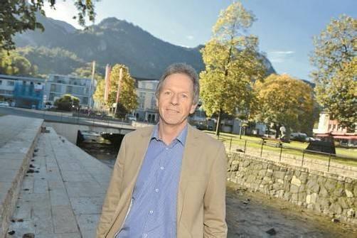 """Bürgermeister Amann am Emsbach: """"Der Entwicklungsprozess ist sehr komplex. Da kann man nicht einzelne Projekte herauslösen."""" Vn/Stiplovsek"""