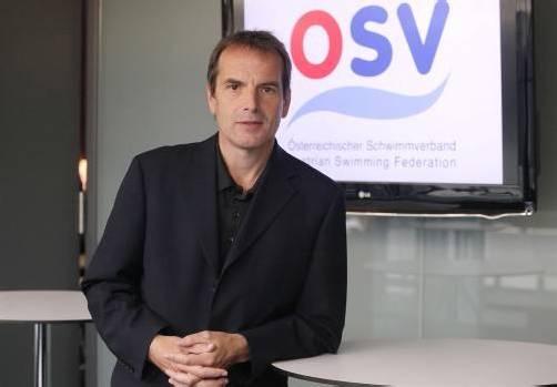 Christian Meidlinger wurde im Rahmen der Generalversammlung des Österreichischen Schwimmverbands (OSV) in Linz zum neuen OSV-Präsidenten gewählt. Foto: apa