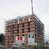 Bürohaus in Lustenau wächst in die Höhe