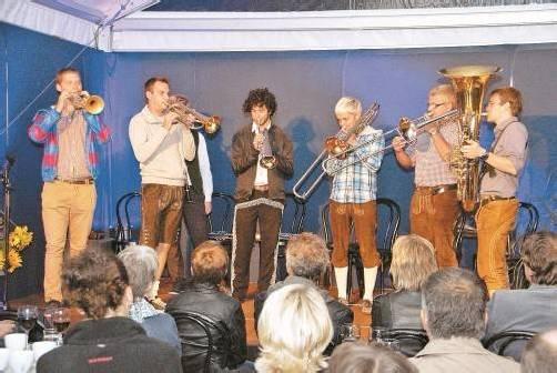 "Das Ensemble ""Federspiel"" setzte den musikalischen Schlusspunkt hinter den Walserherbst 2012. Fotos: Hronek"