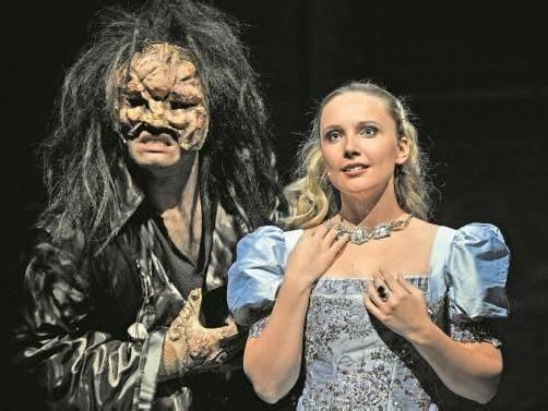 """Das Musical """"Die Schöne und das Biest"""" wurde bereits 5464 Mal am Broadway gespielt. Foto: Showfactory"""