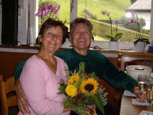 Das Paar Frieda und Josef Spechtenhauser genießt die gemeinsame Zeit.