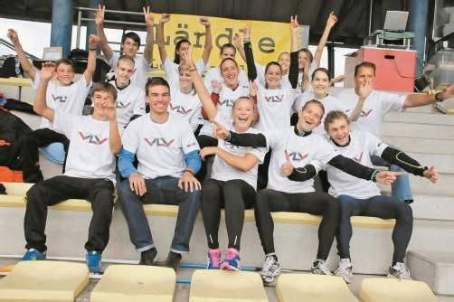Das VLV-Aufgebot beim Arge-Alp-Länderkampf in Innsbruck. Foto: vlv