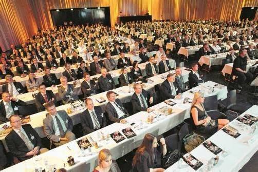 Das Vorarlberger Wirtschaftsforum ist ein fixer Termin bei Vorarlbergs Unternehmern und Entscheidungsträgern. Foto: VN/hartinger