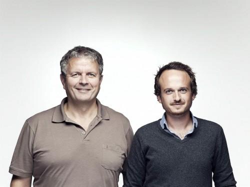 Das neue Führungsduo Gerd Loacker (links) und Samuel Feuerstein. Foto: Dorfinstallateur