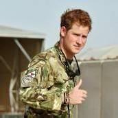 Prinz Harry dient in Afghanistan