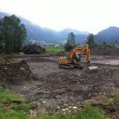 Baubeginn in Bezau für Sennhaus an der Ach