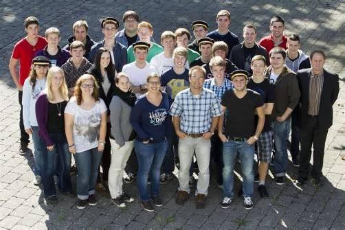 Den Fünftklässlern von der HAK Bregenz steht ein aufregendes Schuljahr bevor, mit dem großen Finale Matura. Foto: vn/hartinger