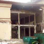 Blumeneggsaal ist abgerissen