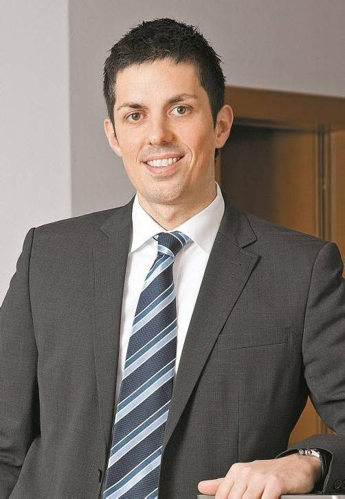 Der Pflichtverteidiger des Mordverdächtigen: RA Simon Mathis.