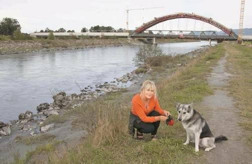 Der Rhein soll ein Ort der Freizeit bleiben. Aber auch die Landwirtschaft hat Ansprüche. Foto: vn/paulitsch