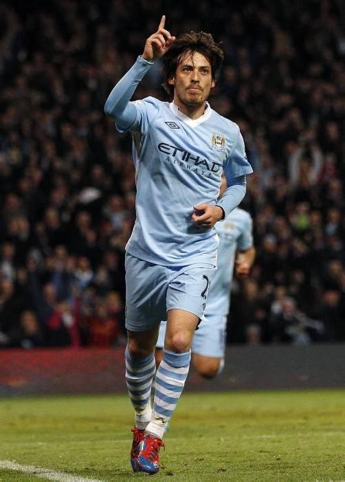 Der Spanier David Silva fühlt sich bei Manchester City wohl. ap