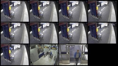 """Der Täter bereut die Tat auf dem U-Bahn-Gleis """"zutiefst"""". Foto: EPA"""