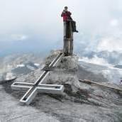Großvenediger ohne Gipfelkreuz