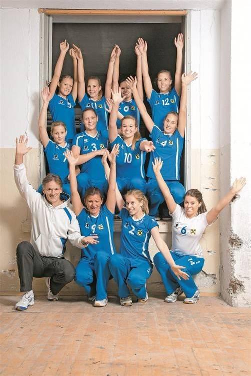 Die Damen des VC Raiffeisen Dornbirn dominierten letzte Saison die Westgruppe der 2. Bundesliga. Foto: lerch