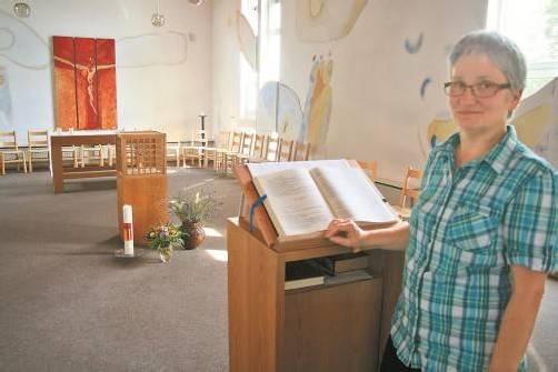 Die Kapelle, gestaltet vom steirischen Theologen und Künstler Kurt Zisler, werden die Frohbotinnen vermissen. Foto: VN/Matt